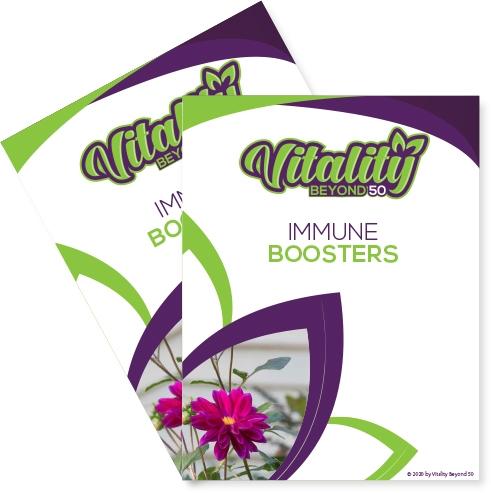 Immune boosters book cover
