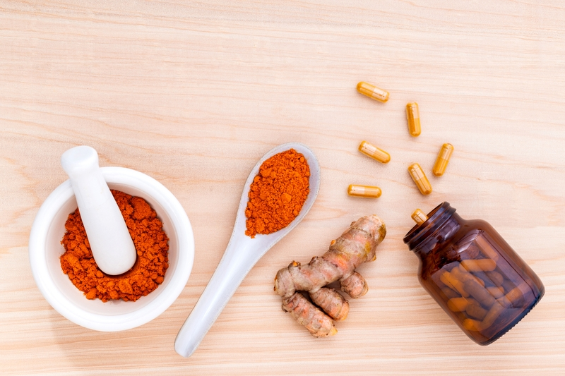 Supplements and turmeric